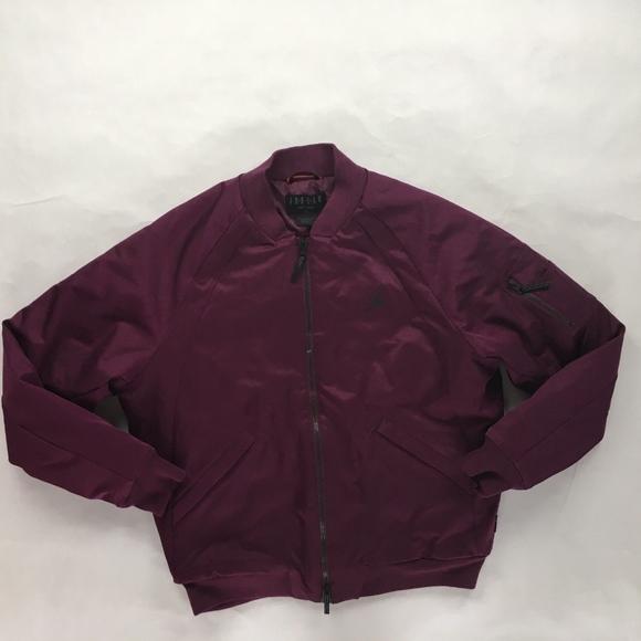 b2eae33f6e7 Nike Jackets & Coats | Air Jordan Wings Ma1 Bomber Jacket Bordeaux ...